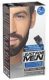 Just For Men - M55 - Pflege Brush In Color Gel für Bart, Schnurrbart, Natur Schwarz