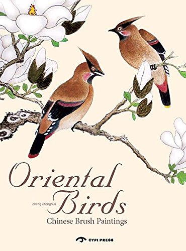 Oriental Birds: Chinese Brush Painting por Zhonghua Zheng