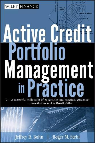 Active Credit Portfolio Management in Practice (Wiley Finance Editions) Steine Portfolio