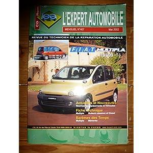 Expert Automobile N° 407 Fiat Multipla Depuis 01/99