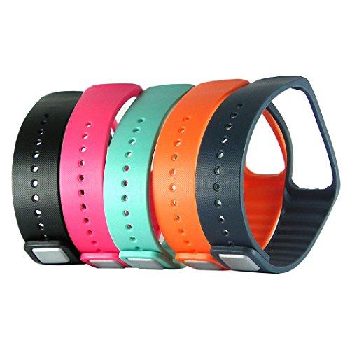 HopCentury Sostituzione Wrist Band Strap Wristband con Metal Chiusura per Samsung Galaxy Ingranaggi Braccialetto Misura di Smart...