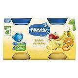 Nestlé Naturnes Alimento infantil, postre de frutas variadas - Paquete de 2 x 130 gr - Total: 260 gr