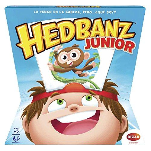 Juegos de Rol Hedbanz Adivina Que Pienso Jr (Bizak 61924596)