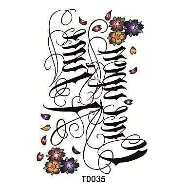oofayzbl-1pcs-temporanea-lettera-tatuaggio-adesivo-di-ancoraggio-corona-croce