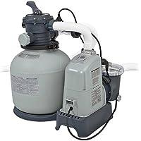 Intex - Combo arena + cloracion salina eco 7 gramos - 32.200 l (28676)