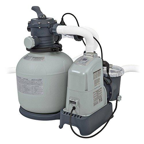 Intex 28676 Krystal Clear Sandfilteranlage 6 m³, Salzwassersystem
