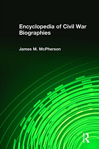 Encyclopedia of Civil War Biographies (Sharpe Reference)
