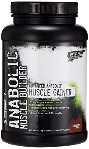 SSN Anabolic Muscle Builder-2.2lbs (Chocolate) Mass & Weight Gainers at amazon