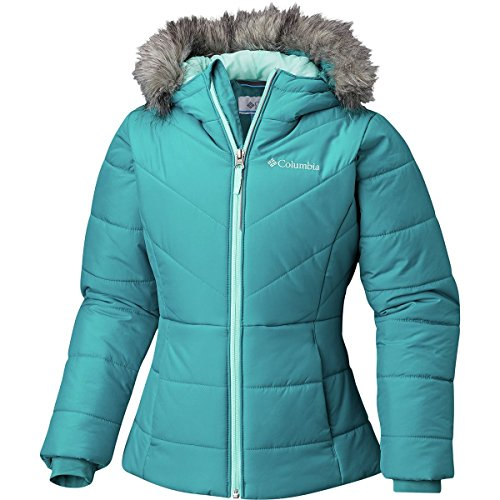 (Columbia Katelyn Crest Insulated Jacket - Girls' Emerald, S)