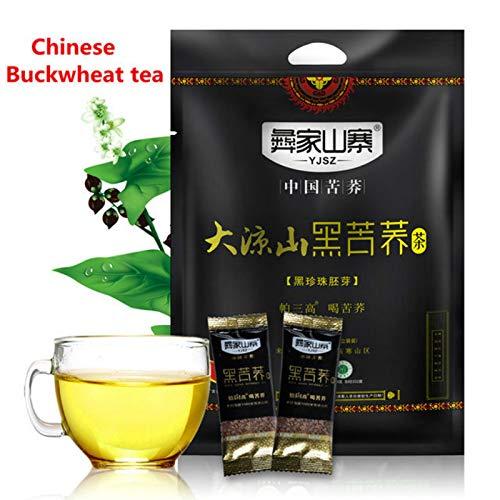 Schwarzer Buchweizen-Tee Schwarzer Tartary Buchweizen Plantule Voller chinesischer Tee 1000g (2.2LB) Kräutertee duftender Tee Blumentee Botanischer TeeKräutertee Grüner Tee Blumen tee