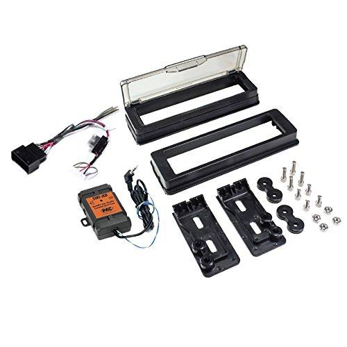 PAC HDK001X Adapter Set zur Radio-Nachrüstung für Harley-Davidson (1998-2013, mit Verkleidung)