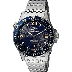 Xezo for Unite4:good Air Commando Automatic Watch, Swiss Sapphire, Citizen Movt, 20 ATM. Serial