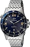 Xezo for Unite4:good Air Commando Automatic Watch, Swiss Sapphire, Citizen Movt, 20 ATM. Serial