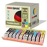 10 XL TONER EXPERTE® PGI-550XL CLI-551XL Druckerpatronen kompatibel für Canon Pixma iP7150, MG5450, MG5550, MG5650, MG6350, MG6450, MG6650, MG7150, MG7550, MX725, MX925, iP7250, iP8750, iX6850