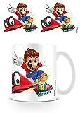 Super Mario Odyssey - Taza de café (cerámica, 7,9 x 11 x 9,3 cm)