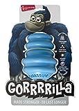 Europet Gorrrrilla Classic gomma Gorilla giocattolo Extra Large Blu +27 kg