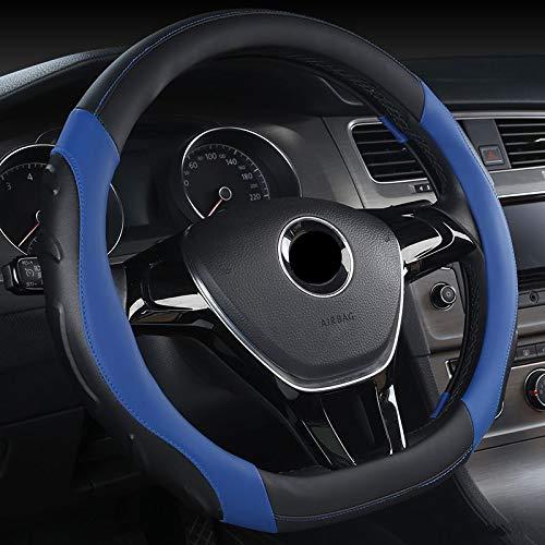 WLFXPT D Coprivolante Forma per VW Golf 7 Golf GTI Anno in Pelle Micro Fibra Antiscivolo Blu