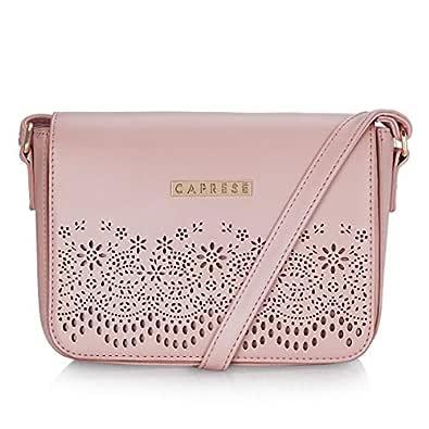 Caprese Spring-Summer 2019 Women's Sling Bag (Pink)