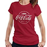 Coca-Cola Retro Logo White Text Women's T-Shirt