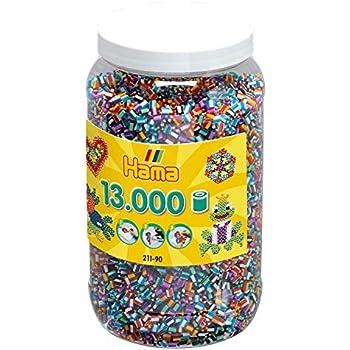 Bügelperlen Vorsichtig Hama BÜgelperlen 1000 StÜck Transparente Farben Gemischt 5 Mm