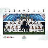 Grupo Erik Editores gpe5182–Poster 2017/2018mit Design Real Madrid Schablone, 61x 91.5cm