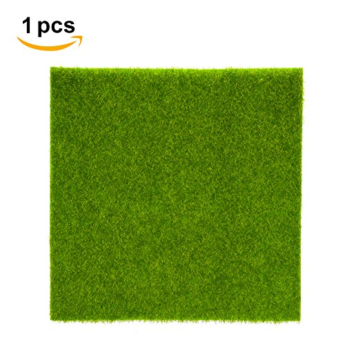 Künstliche Gras Mat Plastic Rasen Grass Indoor Outdoor Grün Synthetische Rasen Micro Landschaft Ornament Home Decoration ( Abmessung : 30cm X 30cm )
