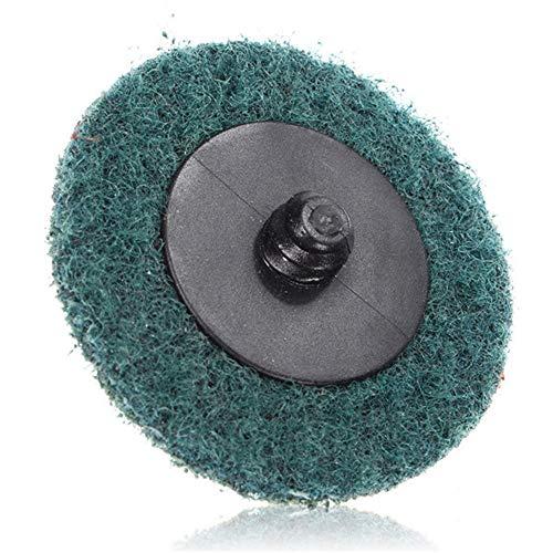 Moonvvin 30pcs 2 Zoll Roloc Rollschloss Oberflächenkonditionierung Feine mittlere Grobschleifscheiben