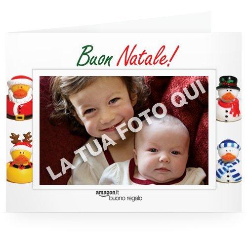 Buono regalo stampa carica una foto papere for Promozione buono regalo amazon