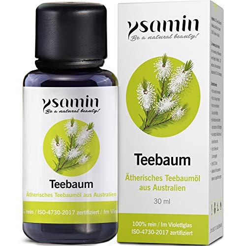 Australisches Teebaumöl hilft bei Akne, Pickel, unreine Haut, Fußpilz, Mundgeruch, Mückenstiche, ISO Zertifiziert -