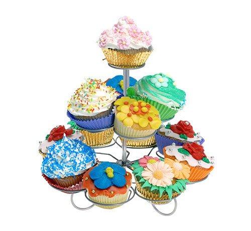 Muffin Ständer Cupcake Etagere 13 Stück Törtchenständer Cupcakehalter