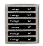 Heritage Arts HCS-A Holzkohlestäbe, gepresst, 6 Stück
