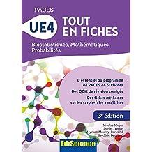 PACES UE4 Tout en fiches : Mathématiques, Probabilités, Biostatistiques