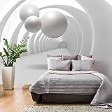 murando - Fototapete 3D 400x280 cm - Vlies Tapete - Moderne Wanddeko - Design Tapete - Wandtapete - Wand Dekoration - Abstrakt Kugeln Architektur a-B-0034-a-a
