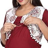 Morph Maternity Women's A-Line Rayon Maternity Kurta