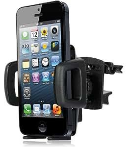 Wicked Chili Lüftungshalterung für Apple iPhone SE / 5S / 5C / 5 / 4 / 4S / 3Gs / 3G, iPod Touch 5, 4, 3, 2 Lüfter Halterung (Made in Germany, für Bumper & Case)