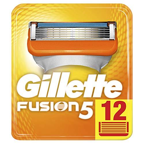 Gillette Fusion5 Rasierklingen für Männer, 1er Pack (1 x 12 Stück)