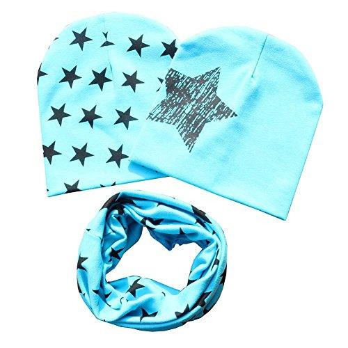 Bestanx Mode Baby Mütze O-Ring Schal Jungen Mädchen Kleinkinder Schal Kind Schal Hüte Mützen (Mode-mädchen-hut)