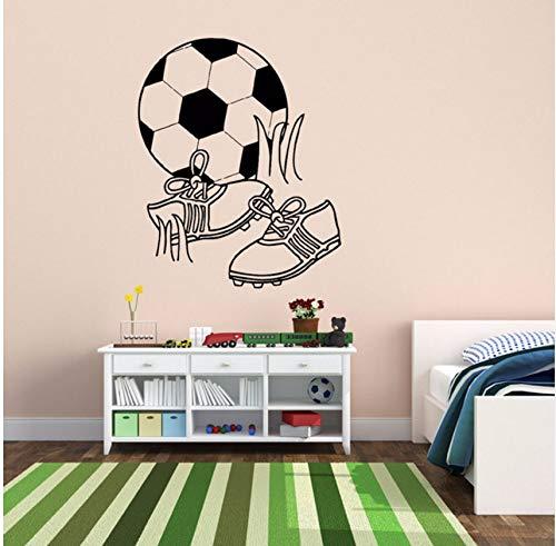 all Ball Stiefel Spielen Wandaufkleber Für Kindergarten Kinder Jungen Schlafzimmer Spielzimmer Vinyl Aufkleber Wohnzimmer Kunst Decor 56X68 Cm ()