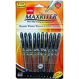Cello Maxriter Ball Pen Set - Pack of 10 (Black)
