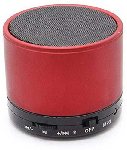 Philips All Smartphones Compatible Bluetooth Speaker S10 Connecting With Mobile/Tablet/Laptop/Aux/Memory Card/Pan Drive (Red,Mono Channel)  available at amazon for Rs.499