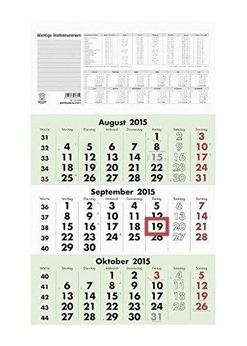 Dreimonatskalender 2019 Nr. 956-0700