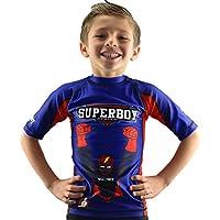 Bõa Superboy, Camiseta Para Niños, Azul, 12 Años