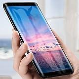 Verre Trempé Galaxy S9 Plus, Samione Protection Écran Galaxy S9 Plus Film Protection en écran Protecteur Vitre Couverture Complète Anti-rayure Glass Screen Protector pour Samsung Galaxy S9 Plus, Noir