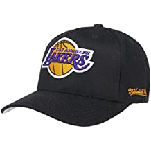 caf15c0185408 Gorra Eazy L.A. Lakers de Mitchell   Ness - Negro