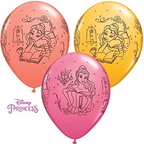 Preisvergleich Produktbild 10 Luftballons Disney Belle Die Schöne und das Biest 26cm
