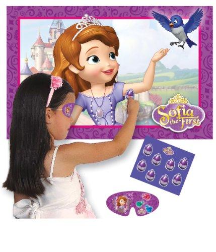 Amscan Sofia Erste Spiel Pin der Amulett Party Zubehör (Sofia Die Erste-banner)
