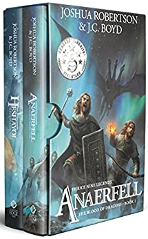 The Blood of Dragons: Thrice Nine Legends by [Robertson, Joshua, Boyd, JC]