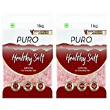 Puro Healthy Salt Crystal, 1kg (Pack of 2)