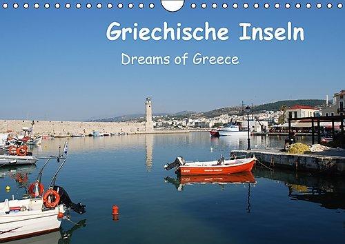 Preisvergleich Produktbild Griechische Inseln (Wandkalender 2017 DIN A4 quer): Dreams of Greece (Monatskalender, 14 Seiten ) (CALVENDO Orte)