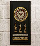 Unravel India Warli Hand Painted Wooden ...